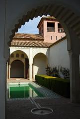 Patio de La Alberca, Alcazaba de Málaga