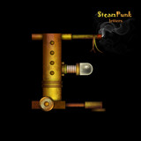 Steam punk letter.