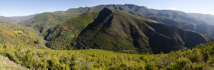 mountains of Caurel