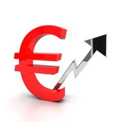 Euro in rialzo