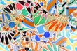 Barcelona, Spain - Gaudi mosaic