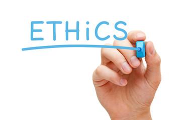Ethics Blue Marker