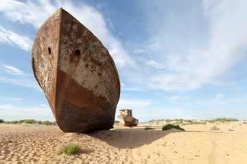 The lost Aral Sea