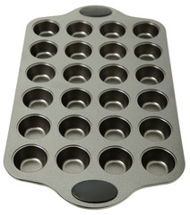 Empty Metal Muffin Tray
