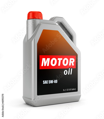 Can of motor oil