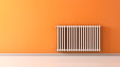 canvas print picture - radiator