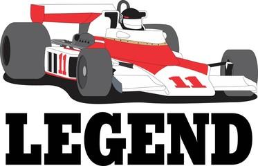 Legend Race Car
