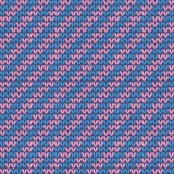 Seamless knitted pattern.