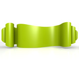 Green wave ribbon