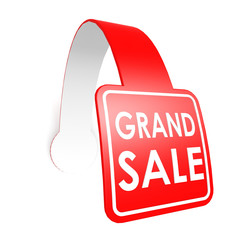 Grand sale hang label