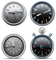 time clock symbols