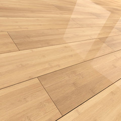 Bamboo wood flooring tiles