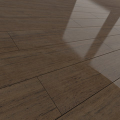 Mahogany wood flooring tiles