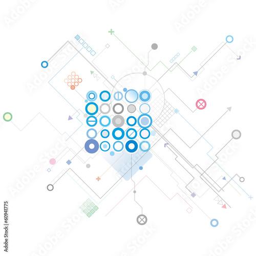 ネットワークイラスト