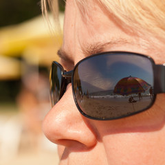 Vision of summer vacation