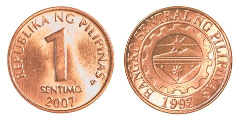 1 Philippine sentimo coin