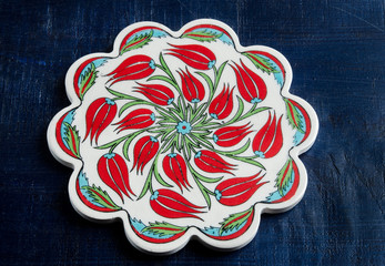 Turkish tile plate