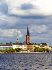 Stockholm, Sweden. Typical urban view