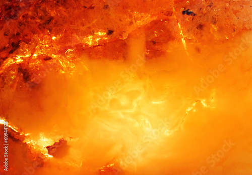 Foto op Canvas Edelsteen Beautiful natural Baltic amber in bright colors
