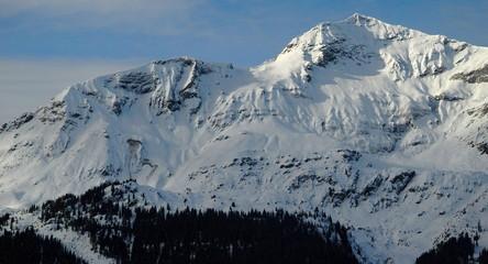 Bietenhorn from Wengen, Switzerland