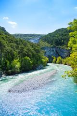Le Verdon river