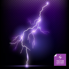 Vector Lightning special effect