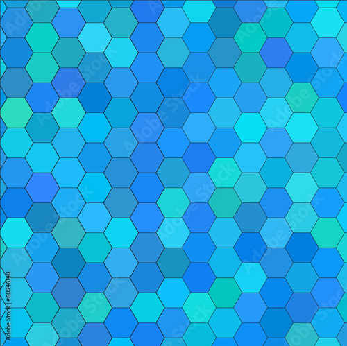 Wallpapers. Abstract pattern of hexagons.