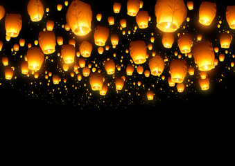 Chinese Fly Lanterns