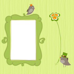 Frame Birds Clover