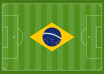 Spielfeld Brasilien