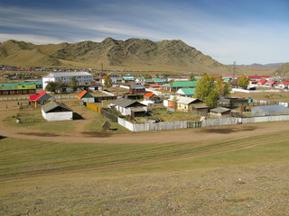 Rashant city, Mongolia