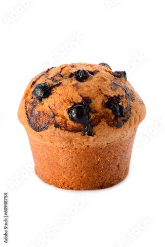 Blackcurrant muffin