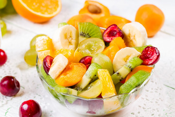 Salad of fruits and berries