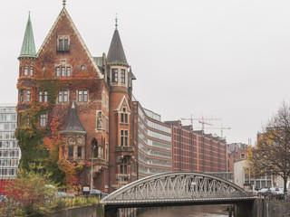 Hamburg, Altstadt, Speicherstadt, Speicher, Fleet, Deutschland