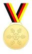 Goldene Medaille für die Winterspiele