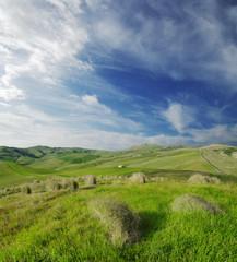 Landscape Hinterland Of Sicily