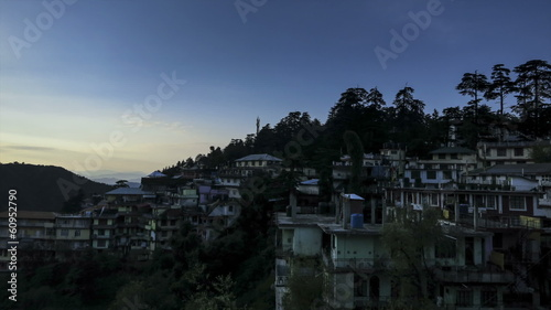 Mcleod Ganj sunrise time lapse