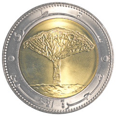20 Yemeni rial coin