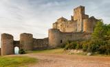 Fototapeta Medieval castle of Loarre,Aragon, Spain
