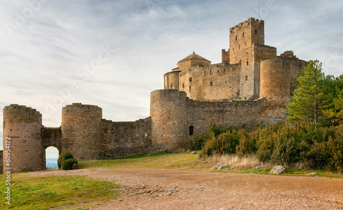 Fotobehang Kasteel Medieval castle of Loarre,Aragon, Spain