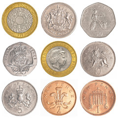 england circulating coins collection