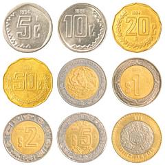 mexico circulating coins