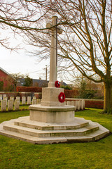 Cemetery world war flanders fields Belgium