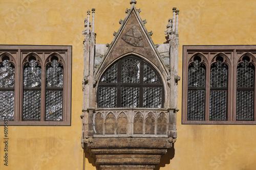 Regensburg, Altes Rathaus, Erker