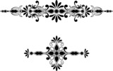 Symmetrical decorative ornament