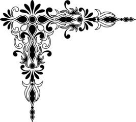 Decorative corner ornament