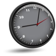 wall clock face
