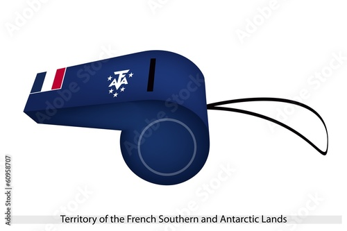 A Whistle of French Southern and Antarctic Lands.