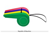 A Whistle of The Republic of Mauritius