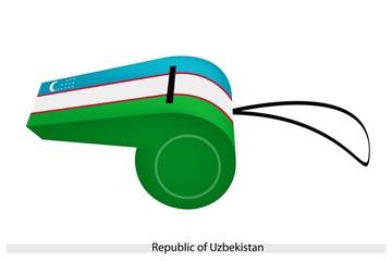 A Whistle of The Republic of Uzbekistan